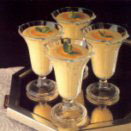 Mousse di pesche allo yogurt